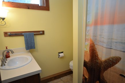 Eastham Cape Cod vacation rental - Bonus basement full bath with stand up shower