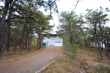 Eastham Cape Cod vacation rental - Long driveway leading to private home