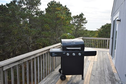 Eastham Cape Cod vacation rental - Wrap around deck off 3rd level with gas grill