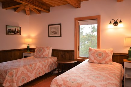 Eastham Cape Cod vacation rental - Twin bedroom on 2nd floor with beautiful wood throughout