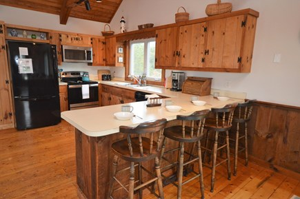 Eastham Cape Cod vacation rental - Breakfast area overlooking kitchen