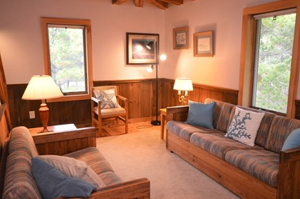 Eastham Cape Cod vacation rental - Quaint reading area with seating