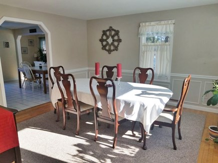 Sandwich Cape Cod vacation rental - Dining Room: has seating for 8.