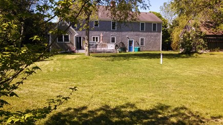 Sandwich Cape Cod vacation rental - Huge backyard: yard games provided or bring your own.
