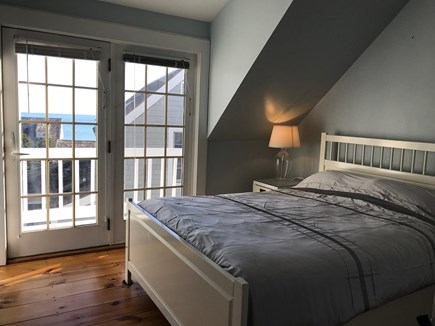 New Seabury, Mashpee New Seabury vacation rental - Master bedroom with Queen bed. Frenchdoor to balcony.