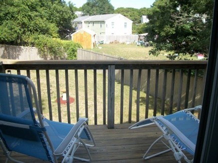 West Yarmouth Cape Cod vacation rental - Deck off master bedroom