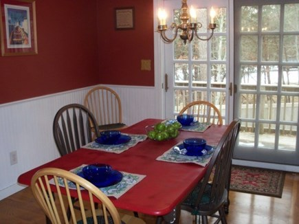 West Yarmouth Cape Cod vacation rental - Kitchen dining area