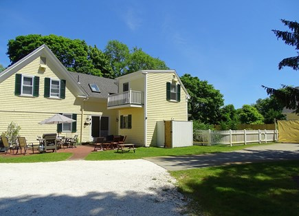 Orleans Cape Cod vacation rental - Grill on the patio in back of house in the fenced in yard