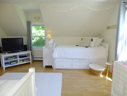 Orleans Cape Cod vacation rental - 2nd floor BR, 2 twin beds w/ trundle (4 total), crib,TV& beanbags