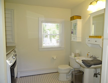 Orleans Cape Cod vacation rental - Main floor bathroom with full laundry