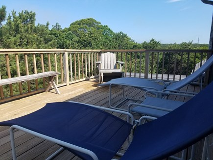 Truro Cape Cod vacation rental - View from deck off the master bedroom