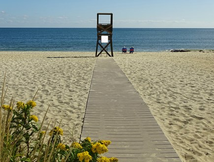 West Harwich Cape Cod vacation rental - Beautiful and vast Earle Beach w facilities, 2/10 mile away