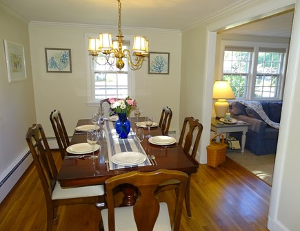 West Harwich Cape Cod vacation rental - Dining room, seats 6 comfortably