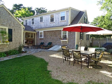 West Harwich Cape Cod vacation rental - Outdoor dining area, with grill