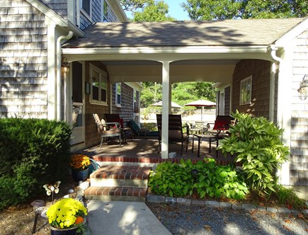 West Harwich Cape Cod vacation rental - Welcome! Through the breezeway