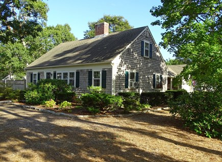West Harwich Cape Cod vacation rental - House sits on a large corner lot