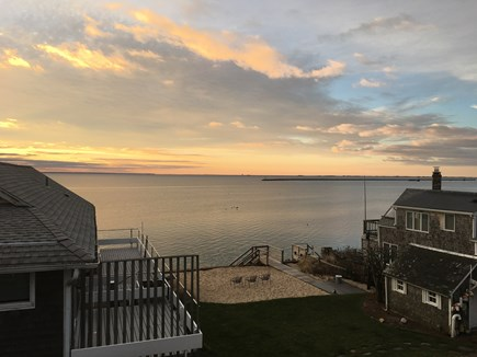 Provincetown Cape Cod vacation rental - View from private deck