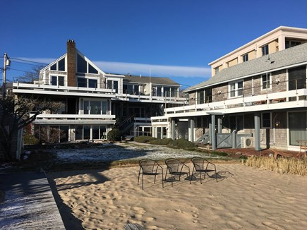 Provincetown Cape Cod vacation rental - Back yard