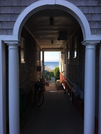 Provincetown Cape Cod vacation rental - Street water / walk through to private backyard and beach