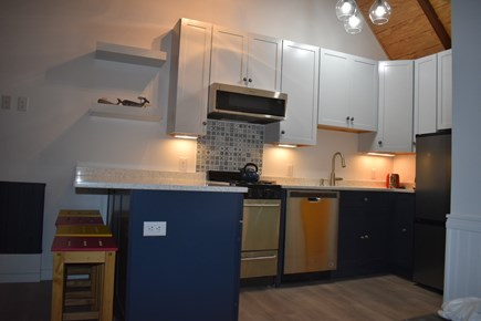 Provincetown Cape Cod vacation rental - New kitchen and appliances - fully stocked.