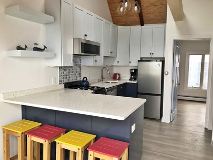 Provincetown Cape Cod vacation rental - Fully renovated Kitchen / Living room (3/2019).