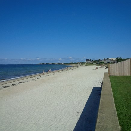 Falmouth Cape Cod vacation rental - Fabulous Old Silver Beach from the Front Yard!!