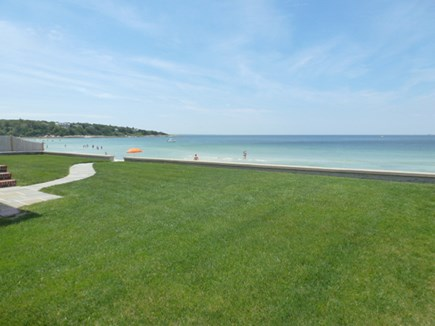 Falmouth Cape Cod vacation rental - Oh, those greens and blues!!