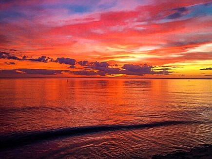 Falmouth Cape Cod vacation rental - The Sunsets are Spectacular and Right in Front of You!!