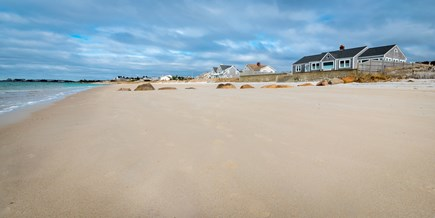 Falmouth Cape Cod vacation rental - Down the stairs and you are at one of the best beaches around