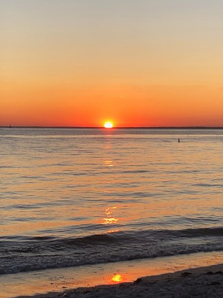 Falmouth Cape Cod vacation rental - And, the unforgettable sunsets!