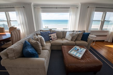 Falmouth Cape Cod vacation rental - Living room is great for a family gathering.
