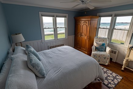 Falmouth Cape Cod vacation rental - Charming Master Bedroom with Ocean Views