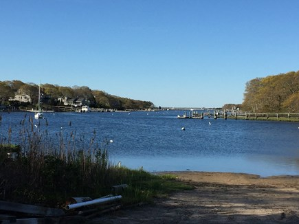 Falmouth Cape Cod vacation rental - Deep water access at the end of the street