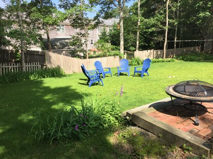 Falmouth Cape Cod vacation rental - Enjoy the nice size yard and fire pit