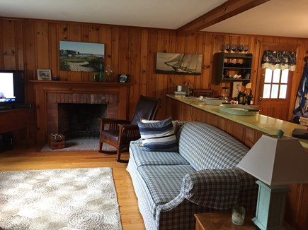 Falmouth Cape Cod vacation rental - Cozy and comfortable living room