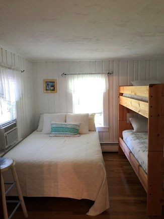 West Harwich Cape Cod vacation rental - Full size bed / bunk beds - great for young family