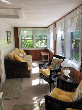West Harwich Cape Cod vacation rental - Beautiful three season porch area