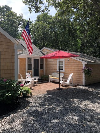 West Harwich Cape Cod vacation rental - Relax, unwind and enjoy the patio with friends and family