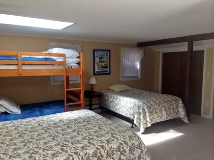 West Harwich Cape Cod vacation rental - Two queen beds and bunk bed - great for a small family