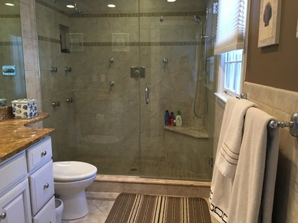 New Seabury, Mashpee New Seabury vacation rental - Master bath with large luxury shower