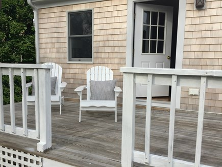 Chatham Cape Cod vacation rental - Enjoy the morning sun on the large deck