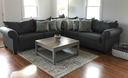 Chatham Cape Cod vacation rental - Brand new sleeper sectional in case you need an extra bed.