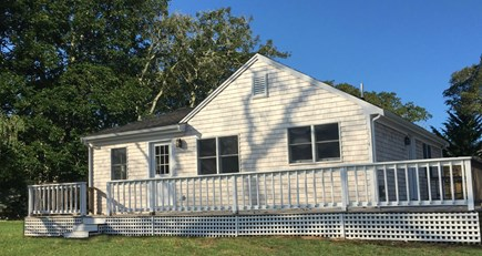 Chatham Cape Cod vacation rental - The large deck is perfect for unwinding after a day at the beach.