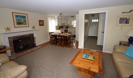 Chatham Cape Cod vacation rental - Open living area w/view to dining area, kitchen, and entrance
