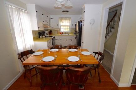 Chatham Cape Cod vacation rental - Sunny kitchen and dining area