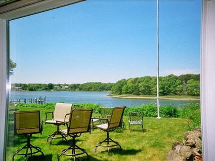 West Dennis Cape Cod vacation rental - View from master bedroom