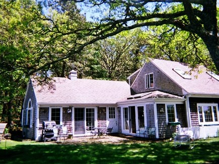 West Dennis Cape Cod vacation rental - Wing, barbecue & patio