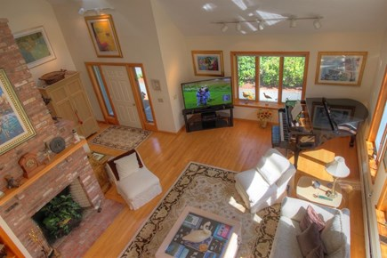Wellfleet Cape Cod vacation rental - Open flow with cathedral ceilings and skylights