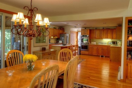 Wellfleet Cape Cod vacation rental - Spacious, fully equipped kitchen with dining table