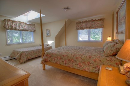 Wellfleet Cape Cod vacation rental - Spacious upstairs bedroom with queen bed and twin